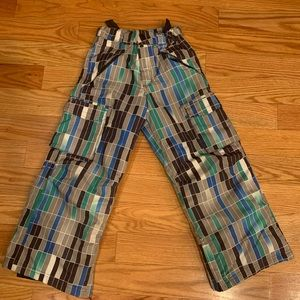 Kids Slalom snow pants. Sz 10/12.